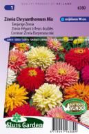 Zinnia Burpeeana/Chrysanth.flowered Mix