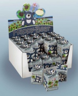 Greengift, Happy-Bear blue 40 pcs in showbox