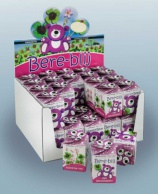 Greengift, Happy-Bear pink 40 pcs in showbox