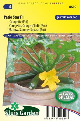 Marrow Summer Squash Patio Star F1 Fruit Plants Products